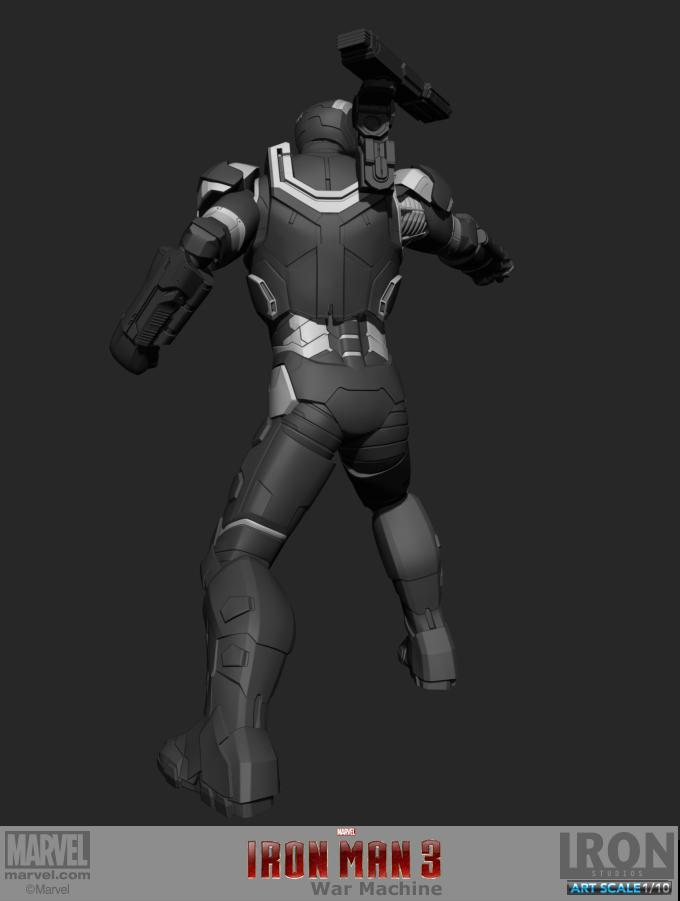 War Machine Amp Iron Patriot Marvel Finished Work 3d Stills